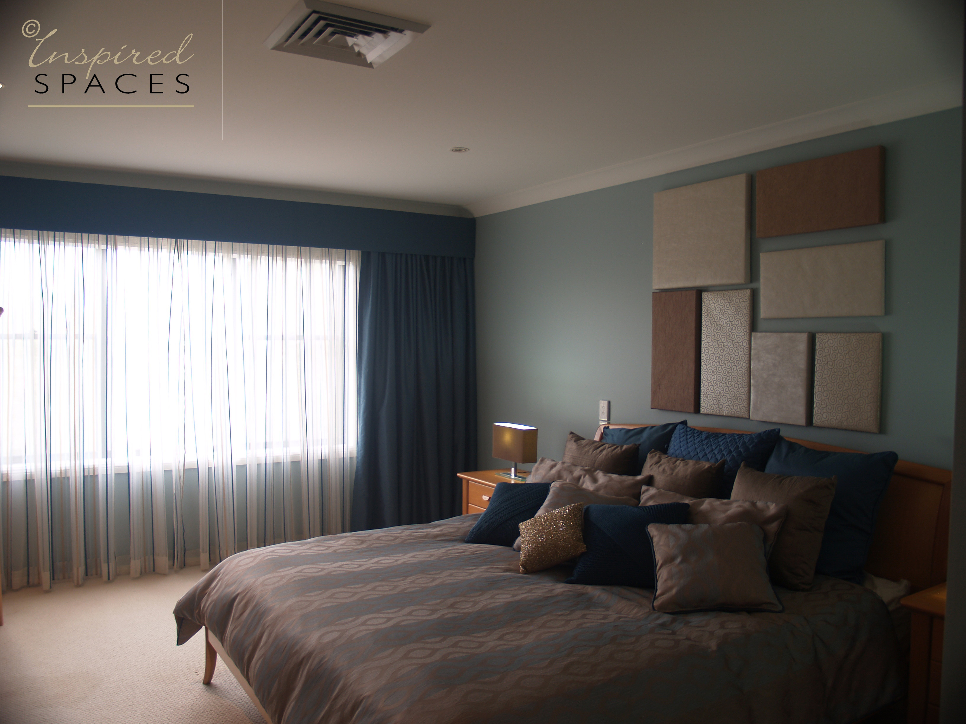 Bedroom Design And Makeover At Castle Hill By Inspired Spaces